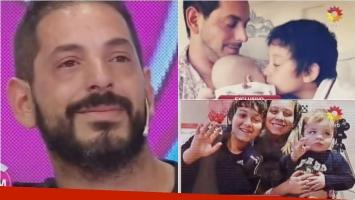 Ariel Diwan se quebró en El diario de Mariana por el cumpleaños de su hijo con Gisela Bernal. Foto: Captura