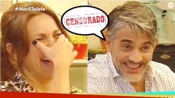El sincero piropo de Pablo Echarri a Nancy Dupláa (Fotos: Captura)
