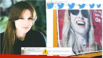 El polémico retweet de Pampita tras su separación de Benjamín Vicuña (Fotos: Web y Twitter)