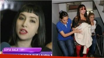 Sofía Gala contó en Infama cómo fue la detención de Moria Casán. Foto: Captura/ Web