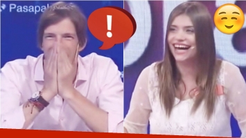 La pregunta de Iván de Pineda que sonrojó a Eva De Dominici en Pasapalabra (Fotos: Captura)
