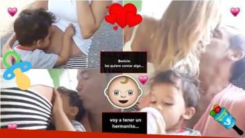 Vanina Escudero y Waldo Navia serán padres por segunda vez (Fotos: Captura)