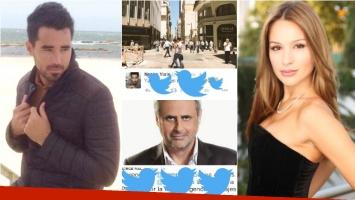 La reacción de Nacho Viale tras los rumores de que se iba a Miami y el pícaro tweet de Jorge Rial (Fotos: Web)