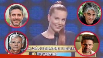 La elección de Agustina Kämpfer en Los 8 escalones (Fotos: Web)