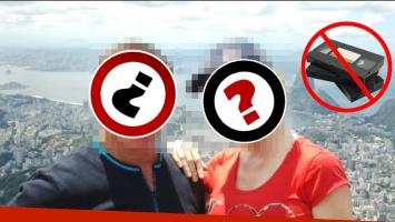 La pareja que aseguró que no se iba a volver a filmar en la intimidad tras la difusión de un video íntimo (Foto: Web)