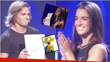 La mejor elección: el participante le dijo que no y ella reaccionó con un pedido especial a Guido Kaczka (Fotos: Captura y Web)