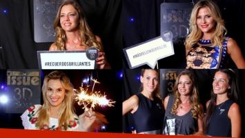 Geraldine Neumann, Chechu Bonelli y Jimena Buttigliengo brillaron junto a ISSUE 3D GLOSS