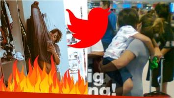 La zarpada reacción de Giannina Maradona en Twitter. Foto: Twitter/ Big Bang News