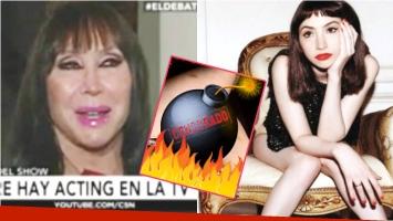 Moria Casán habló de la foto hot que publicó Sofía Gala en Instagram (Fotos: Captura y Web)