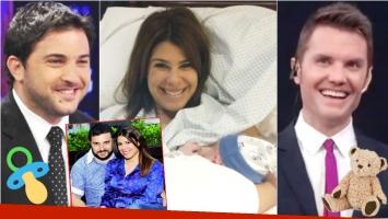 Nació Valentín, el hijo de Diego Brancatelli y Cecilia Insinga (Fotos: Web, revista Paparazzi, Captura y Twitter)