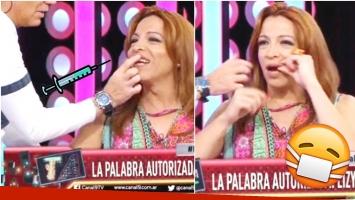 La capocómica sorprendió con su relato en Bendita TV (Fotos: Captura)