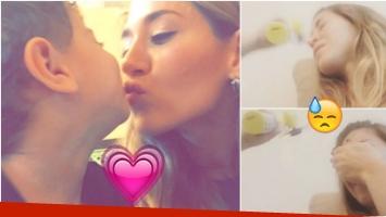 El divertido video de Jimena Barón con su hijo Momo (Fotos: Instagram y Captura)
