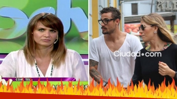 Amalia Granata durísima contra Jimena Barón tras su reconciliación con Daniel Osvaldo