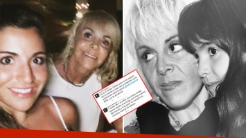 Gianinna Maradona volvió a respaldar a Claudia Villafañe en Twitter. (Foto: Twitter)