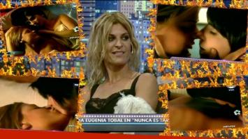 Eugenia Tobal contó detalles de su recordada escena hot con Carolina Peleritti.