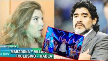 Dalma Maradona, a un paso del Bailando: ¿qué le dijo su papá? (Fotos: Captura y Web)