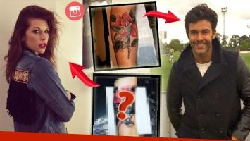 La llamativa coincidencia del nuevo tatuaje de Juliana Giambroni con el de Mariano Martínez