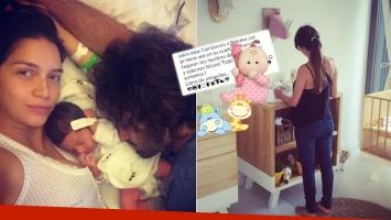 Zaira Nara mostró el bello cuarto de su hija. Foto: Instagram.