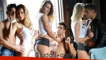 Mica Viciconte y Pitu Blázquez, súper sexies.
