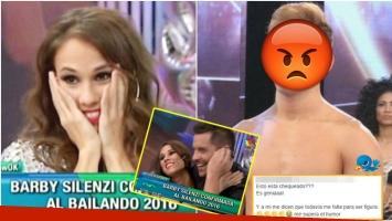 El enojo del bailarín Gabo Usandivaras, tras ser confirmada Barby Silenzi al Bailando (Fotos: Captura y Web)