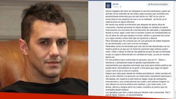 Ciro Pertusi habló de sus declaraciones de hace 20 años.