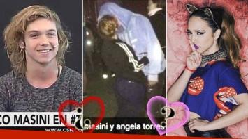 Franco Masini habló de su foto infraganti con Ángela Torres