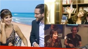 Lali Espósito, de promoción en los medios de Israel. Foto: Captura