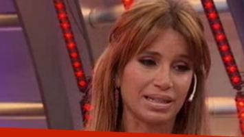 Flor Peña se quebró en Intrusos al hablar de sus declaraciones sobre las drogas.