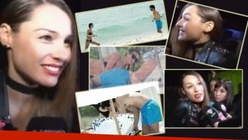 La reacción de Pampita tras las fotos de Nacho Viale y Lucía Pedraza (Foto: Web y Crónica)