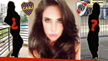 El look 'elegante sport' de Sabrina Ravelli para ir al Superclásico en la Bombonera.