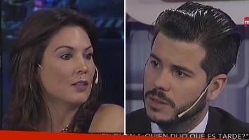 La reflexión de Nicolás Magaldi tras su entrevista a Ursula Vargues. Foto: Captura TV