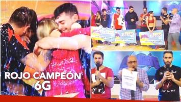 Combate: el equipo rojo se consagró campeón de la sexta generación (Fotos: Twitter y Captura)