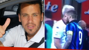 El Ogro Fabbiani opinó sobre qué haría él si fuera Maxi López al cruzarse con Mauro Icardi.