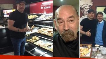 El panadero que atendió a John Travolta contó por qué vino al país
