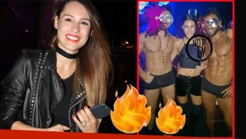 La divertida salida nocturna de Pampita con amigas… y strippers (Foto: Ciudad.com y Notirey)