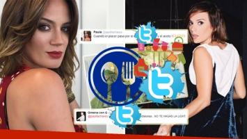 Paula Chaves y Gimena Accardi, divertido cruce en Twitter (Foto: Instagram y Twitter)