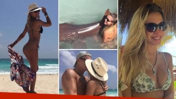 Las fotos de las vacaciones de Luly Drozdek y Hernán Nisembaum en Playa del Carmen