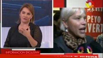 Nancy Pazos, durísima con Nazarena Vélez.