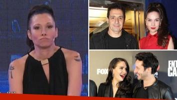 Erica García habló del rumor de que Natalia Oreiro le fue infiel a Ricardo Mollo con Benjamín Vicuña