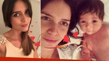 La selfie súper tierna de Zaira Nara con su hija (Foto: Instagram)