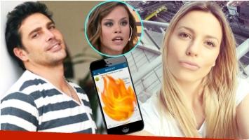 Difundieron chats entre Erika Mitdank y Matías Alé (Fotos: Web y Captura)