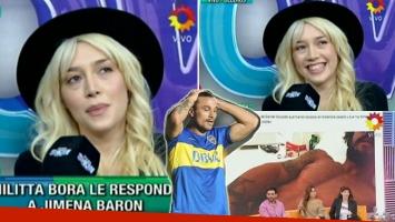 Militta Bora opinó de las fotos prohibidas de Daniel Osvaldo (Foto: Web)