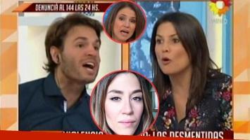 Los panelistas entablaron una vehemente disucisión al aire por un contrapunto respecto de la actitud de Jimena Barón con Daniel Osvaldo.