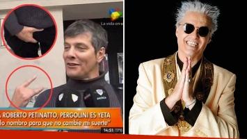 La divertida respuesta de Mario Pergolini a Roberto Pettinato, quien lo trató de