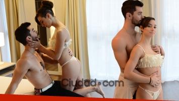 Bianca Di Pasquale y Paio Rodríguez posaron muy sexies. (Fotos: Musepic-Ciudad.com)
