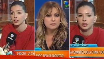 La tremenda pregunta de Marcela Tauro a la China Suárez en Intrusos (Foto: web)