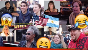 Estadounidenses opinan de famosos argentinos. Foto: Captura