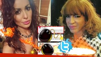 Lizy Tagliani y Pamela Sosa, tremendo cruce en Twitter (Foto: Web)