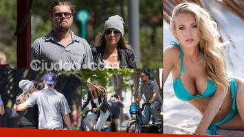 Leonardo DiCaprio y su nueva novia Ela Kawalec