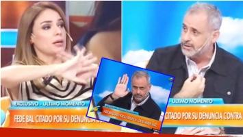 El exabruto de Jorge Rial y posterior pedido de disculpas en Intrusos (Fotos: Captura)